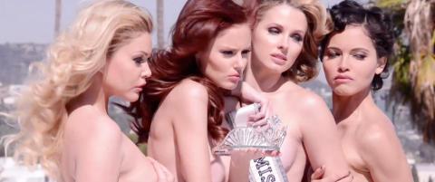 Tidligere Miss USA-vinnerne kler av seg for en god sak