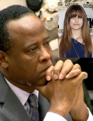 Michael Jacksons lege tr�ster Jacksons datter fra fengselet