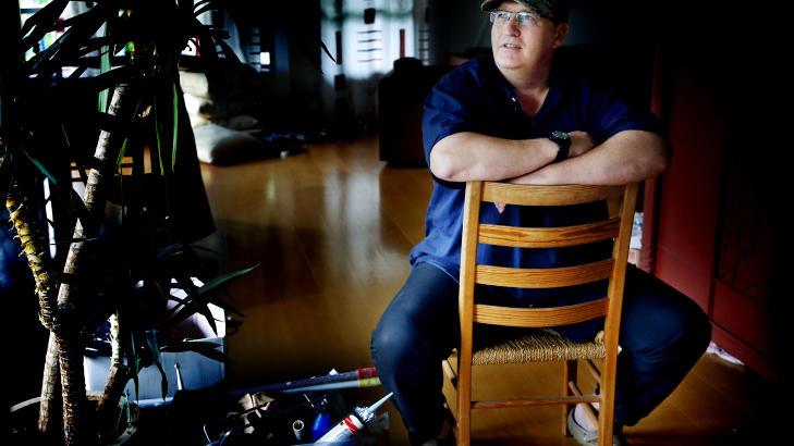 KREVER ERSTATNING: Tidligere spesialsoldat Bjørn Sagvolden ber Forsvarsdepartementet erkjenne erstatningsansvar etter en nestendrukning og en brutal skyteøvelse i et mørklagt «killing house» i 1983. Han er fra før tilkjent rett til yrkesskadeerstatning. Foto: Jacques Hvistendahl / Dagbladet