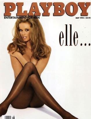 N� gjenskaper hun den ber�mte Playboy-posen i en alder av 49 �r