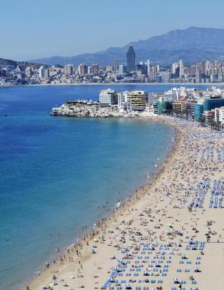 Benidorm var den f�rste byen i Spania hvor gjestene lovlig kunne g� med bikini p� stranda