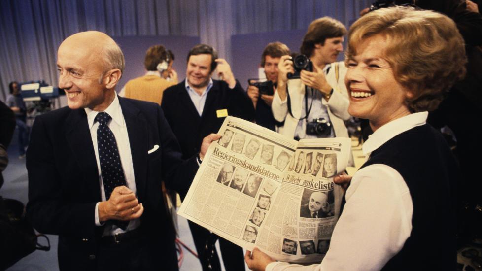 POLITIKER:  Høyre-politikeren var justisminister fra 1981 til 1985 og fylkesmann i Vestfold fra 1989 fram til hun gikk av med pensjon i 2010. Foto: NTB / SCANPIX