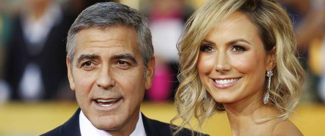 Stacy Keibler bekrefter at forholdet til Clooney er over