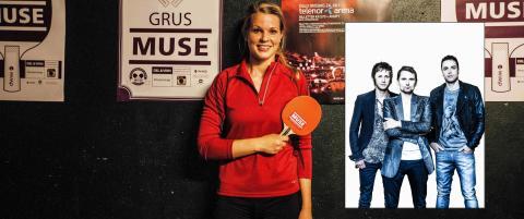 Norske Henriette (20) skal spille bordtennis mot Muse