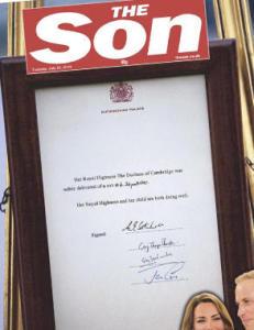 Slik hyller The Sun den lille prinsen i dag