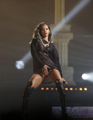 Se bildene fra Rihanna-konserten her