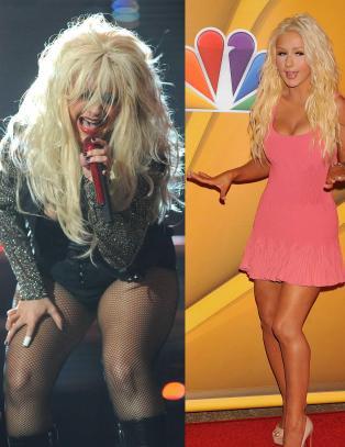Christina Aguileras figur skaper overskrifter igjen