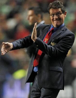 Russland vil forlenge med Fabio Capello