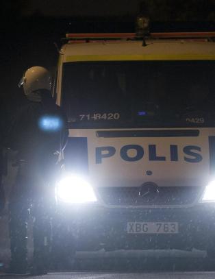 - Politimannen skj�t 69-�ringen i Husby i n�dverge