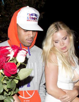 Ble med Chris Brown hjem