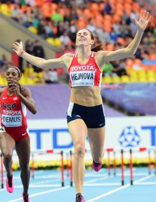 Suverene Hejnova tok VM-gull med årsbeste