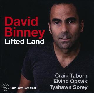 DAVID BINNEY: Altsaksofonist i ungt, knallsterkt selskap.