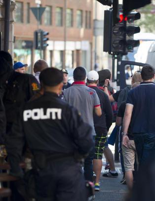 30 personer stoppet av politiet i Oslo