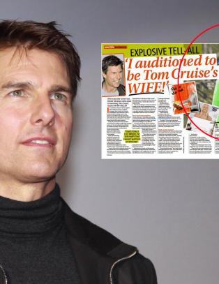 Norske Anette (36): - Jeg var p� audition for � bli Tom Cruises neste kone