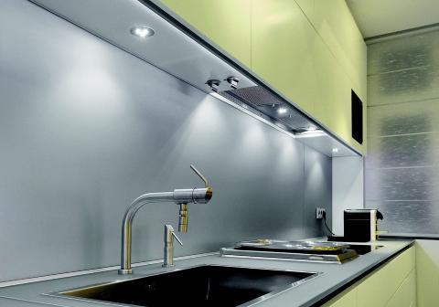 Kjøkkenbelysning under skap