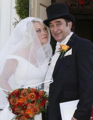 Steinar Albrigtsen giftet seg i dag