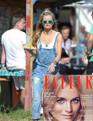 Prestisjetungt magasin presenterer Cressida som prins Harrys kj�reste