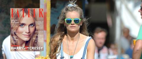 Prestisjetungt magasin presenterer Cressida som prins Harrys kjæreste