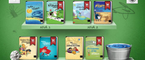 Her er appene som l�rer barna � lese