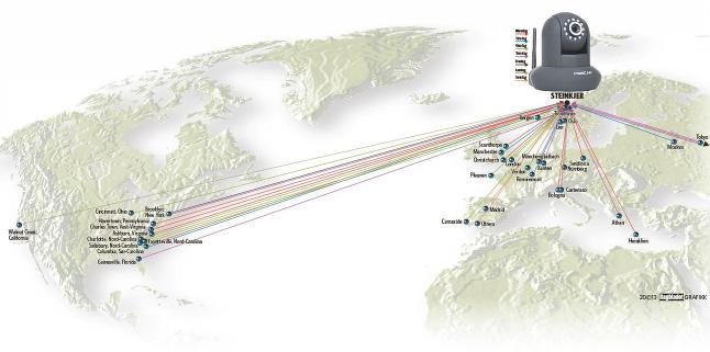 Hele verden spionerte på soverommet i norsk hytte