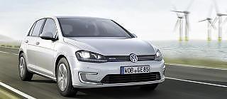 NESTE �R: VW Golf kommer b�de som ladbar hybrid og ren elbil neste �r. Foto: VW