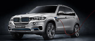 LUKSUS: Nye BMW X5 kommer som plug-in hybrid. Foto: BMW