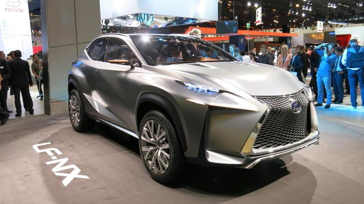 MINDRE SUV: Toyota og Lexus skal lansere hele 15 nye eller fornyede modeller innen utgangen av 2015. Blant annet en mindre Lexus-SUV. Foto: Martin Jansen