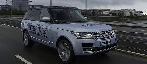 LUKSUS: Range Rover og Range Rover Sport kommer som hybrider. Foto: Land Rover