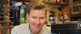 Norske Magnus kan bli årets britiske designer