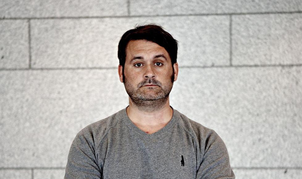 ADVARER ARBEIDSGIVER: Thomas Seltzer, kjent fra bandet Turboneger og NK-programmet Trygdekontoret, varsler sin arbeidsgiver om at han skal v�re ansett som fiende av scientologikirka. Foto: Lars Eivind Bones