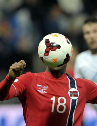 �n norsk spiller storkoste seg mot Slovenia