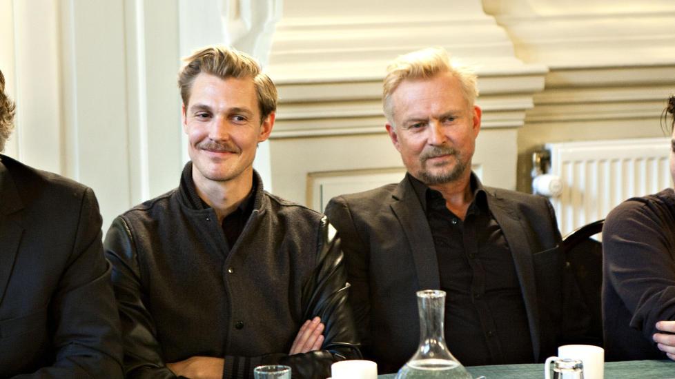 HOVEDROLLENE:  P� hovedrollelista finner vi Espen Klouman H�iner og Dennis Storh�i. Foto: Anders Gr�nneberg / Dagbladet