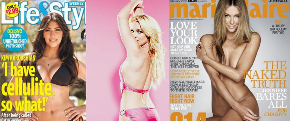 bilder av nakne reklamekampanje