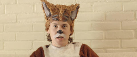 N� lager Ylvis barnebok av �The Fox�