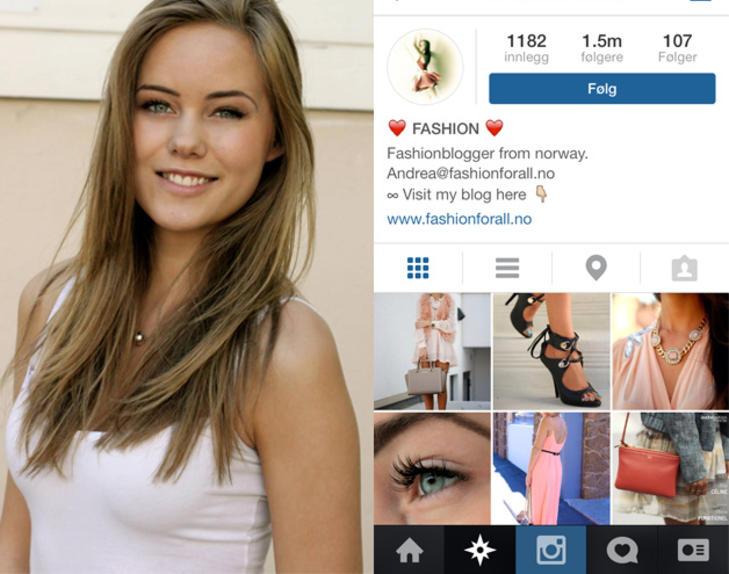Populære instagram kontoer norge
