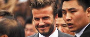David Beckham fors�ker seg med �banebrytende� boklansering