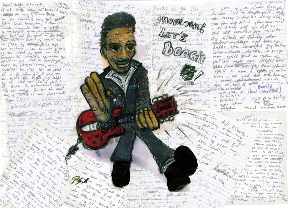 chuck berry essay In the firmament of rock 'n' roll's first-generation creators, no artist looms larger than chuck berry in a consistently innovative recording career that.