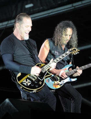 Metallica holder konsert i Antarktis