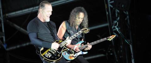 Metallica holder konsert i Antarktis