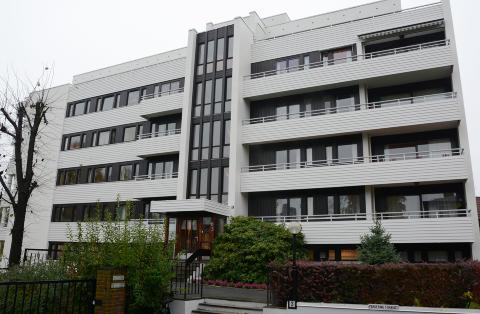 ROMSLIG: Kontny-paret arvet to store leiligheter etter Br�nden. Den ene ligger i Hafrsfjordgata 3 p� Frogner i Oslo. Foto: Ralf Lofstad / Dagbladet