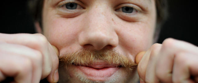 Slik f�r du den beste Movember-barten