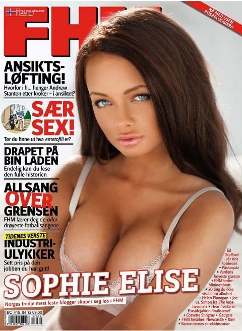 norske glamourmodeller sofie el nakenbildet