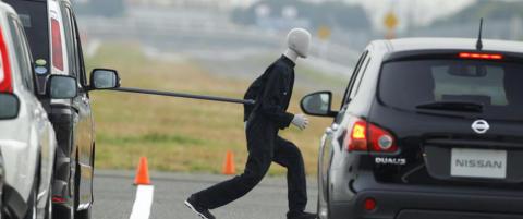 N� tester Euro NCAP autobremser ogs�