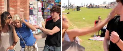 For denne sp�ken fikk Taylor en �bitch slap�