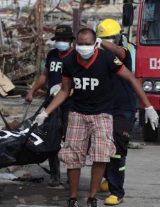 FN mangler fortsatt oversikt over skadeomfanget og behovet for hjelp p� Filippinene