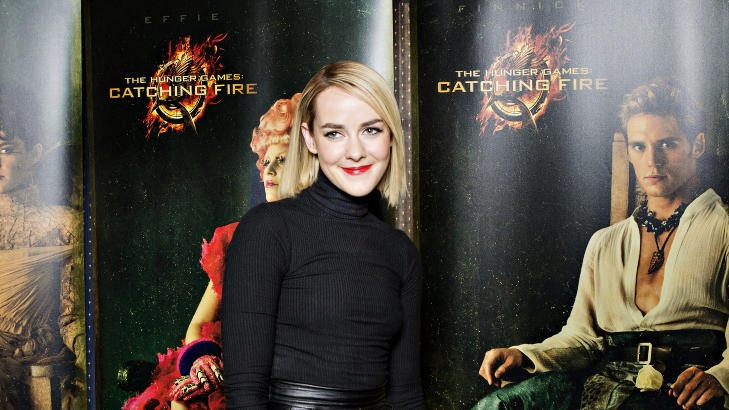 I NORGE: Malone er sammen med Elizabeth Banks og Sam Claflin i Norge. De skal g� ned den r�de l�peren p� Colosseum kino i kveld. Foto: Nina Hansen / Dagbladet
