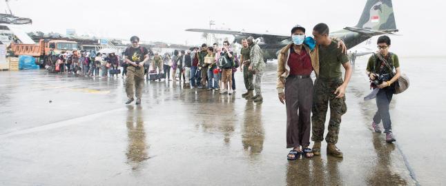 Tyfonen Haiyan har rammet fire ganger flere enn tsunamien i 2004