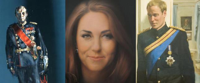 Her er de kongelige portrettene som fikk flere til å se rødt