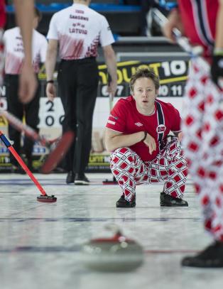 Norge klare for finalen i curling-EM