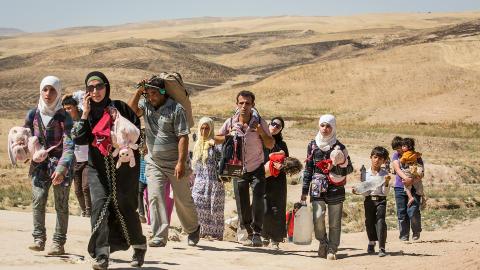 Syria og irak konflikten